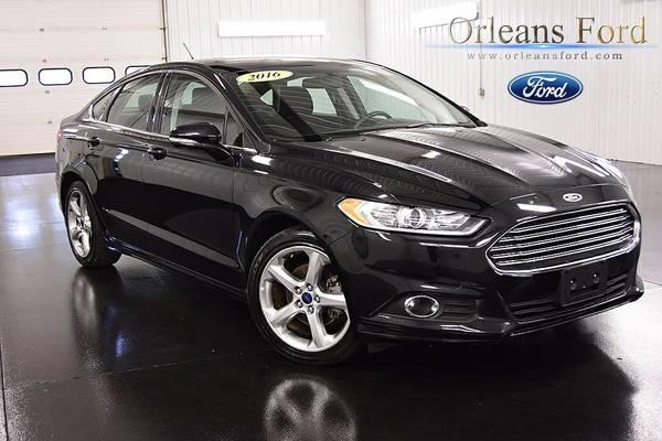 Stock 89763 2016 Ford Fusion 4D Sedan