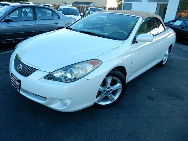 2006 TOYOTA CAMRY SOLARA SLE*CONVERTIBLE*ONE OWNER*NAVI*CLEAN TITLE