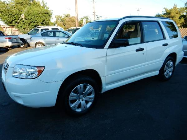 2008 SUBARU FORESTER 2.5X*AWD*NEW TIRES*CARGOCOVER*CLEAN TITLE