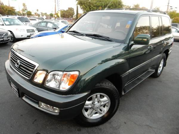 2000 LEXUS LX470*AWD*DVD*LEATHER*TIMINGBELT CHANGED*CLEAN TITLE