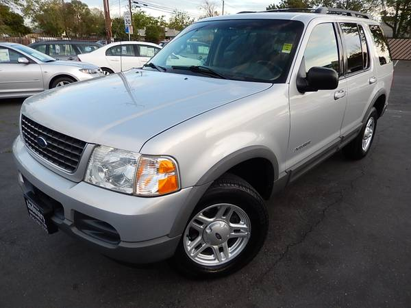 2002 FORD EXPLORER XLT*4X4*TOWPACKAGE*ROOFRACK*CLEAN TITLE