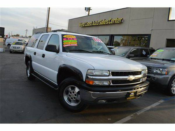 2003 *Chevrolet* *Suburban* 4WD 3RD Must See -CALL FOR APPROVAL...