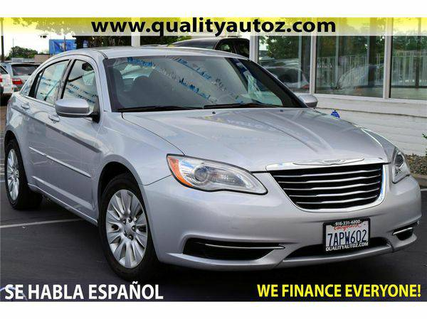 2012 *Chrysler* *200* $699 down o.a.c