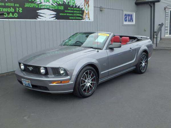 2006 *Ford* *Mustang* *GT Deluxe* GT Premium 2dr Convertible