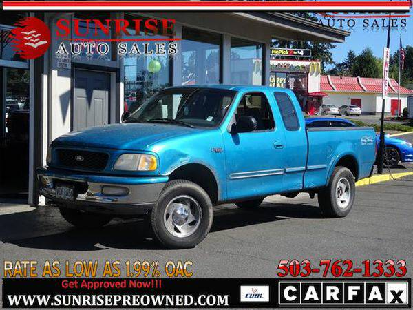 1997 *Ford* *F-150* *F 150* *F150* FORD F-150 XLT 4WD EXPENSIVE!!