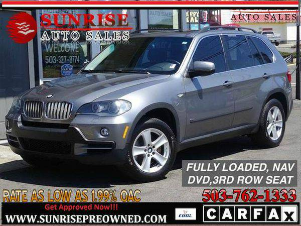 2007 *BMW* *X5* 4.8i, DVD, NAV,3RD ROW SEAT,FULLY LOADED