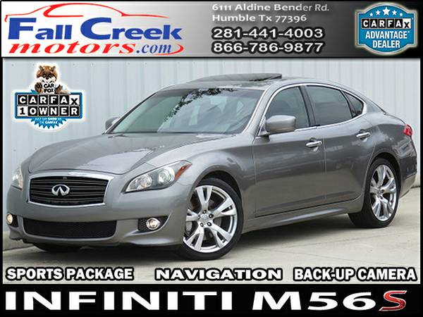 ***2011 INFINITI M56 SEDAN 4 DOOR 5.6L V8 SPORT PACKAGE MUST SEE