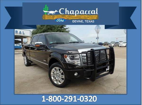 (67167A) 2013 Ford 150 SuperCrew CREW Cab 4X4 {*75,969 miles!}