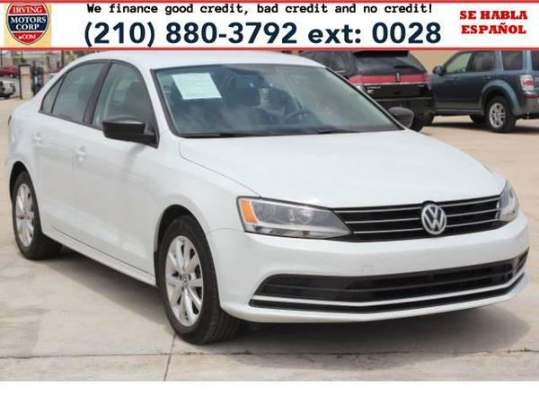 2015 *Volkswagen Jetta* SE 6A BAD CREDIT? NO PROBLEM!
