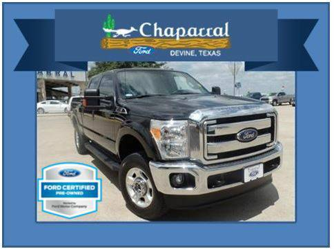 (67116A) Ford Certified 2015 Ford F250 Crew Cab 4X4 {*18,413 miles!}