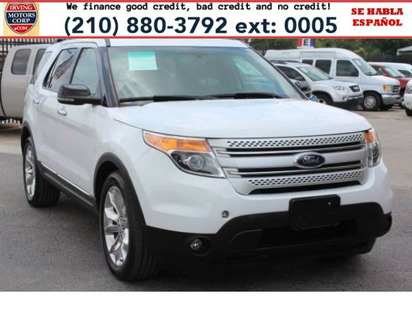 2013 *Ford Explorer* XLT FWD BAD CREDIT? NO PROBLEM!