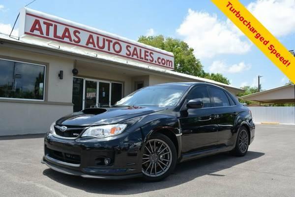 2012 Subaru Impreza Sedan WRX WRX - Black