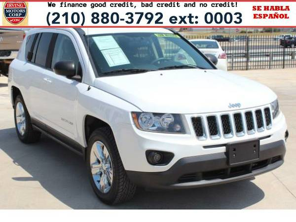 2014 *Jeep Compass* Sport 4WD BAD CREDIT? NO PROBLEM!