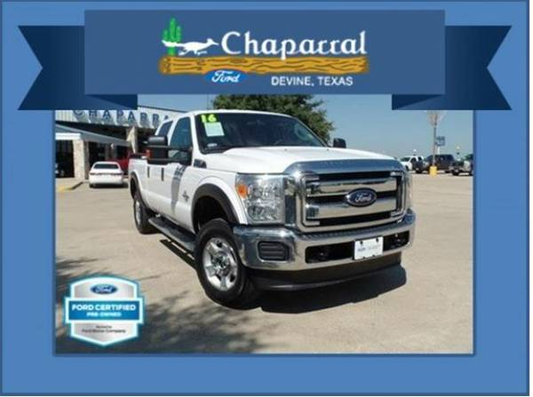 (P5630) Ford Certified 2016 Ford F250 Crew Cab 4X4 {*34,573 MILES!}