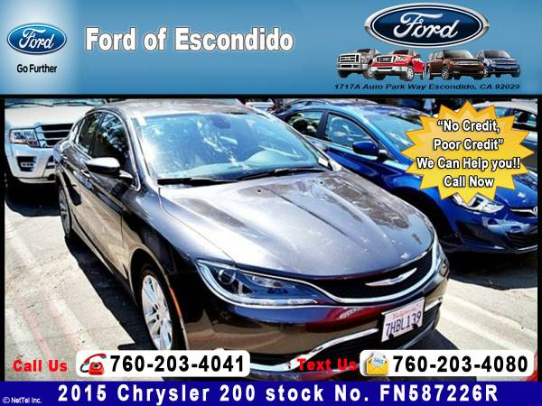 2015 Chrysler 200 Limited Sedan**We will Meet or Beat Any Price!