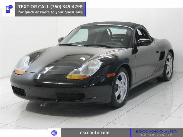 2000 *Porsche* *Boxster* -☏ CALL OR TEXT FOR PRE-APPROVAL