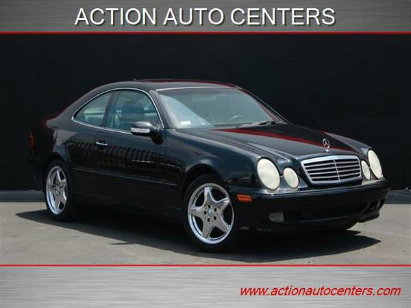 2001 MERCEDES-BENZ CLK 320 **BLACK ON BLACK**