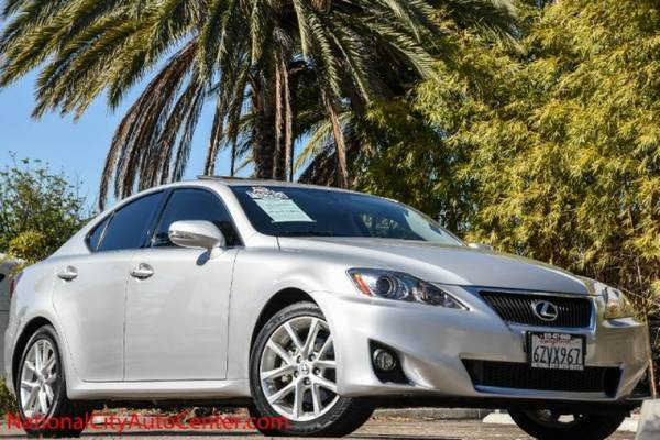 2013 Lexus IS 250 Sport SHOWROOM BEAUTY, 1-OWNER, LOW MILES