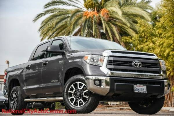 2014 Toyota Tundra 4WD CrewMax 5.7L TRD OFF RD ONE OWNER, SHOWROOM