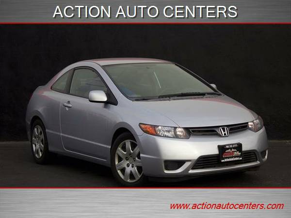 2008 HONDA CIVIC LX COUPE **CLEAN CARFAX**5 SPEED MANUAL*GREAT MPG**