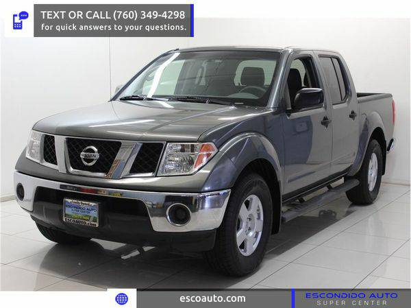 2007 *Nissan* *Frontier* *Crew* *Cab* -☏ CALL OR TEXT FOR...