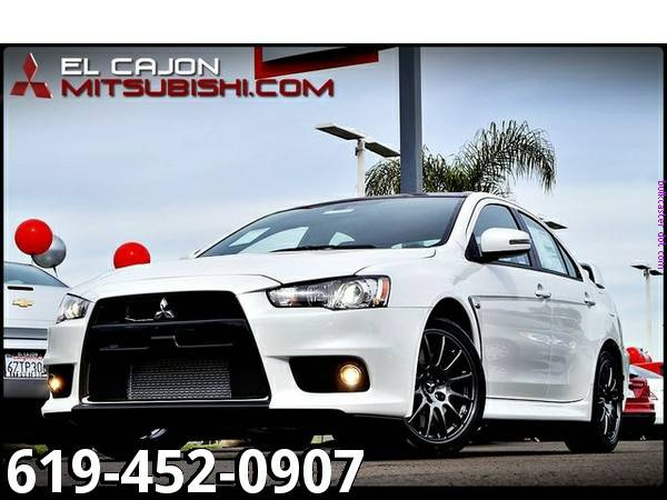 ♜2015 Mitsubishi Lancer Evolution, only 2 miles!♜