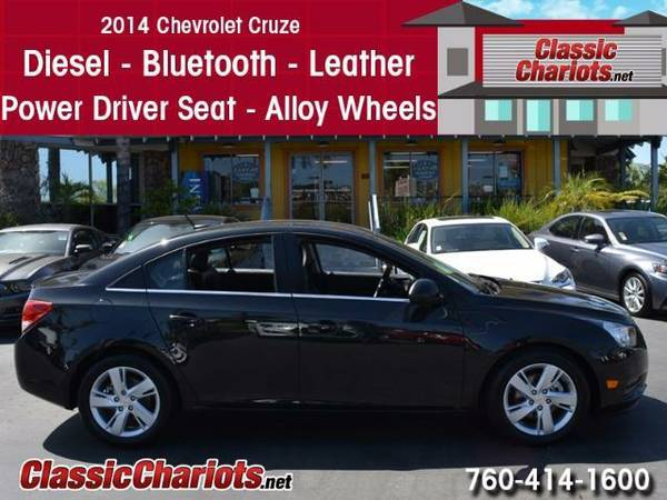 2014 Chevrolet Cruze Diesel - Leather - 1 Prior Owner - Clean History