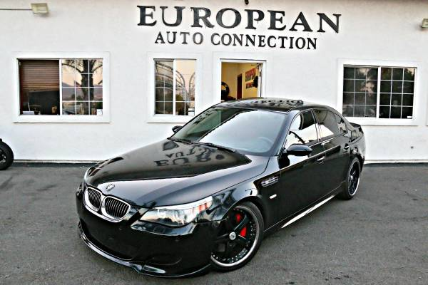 2006 BMW M5 BLK/RED EXECUTIVE PRODUCT 550+HP BEAST LOADED ONLY 81K