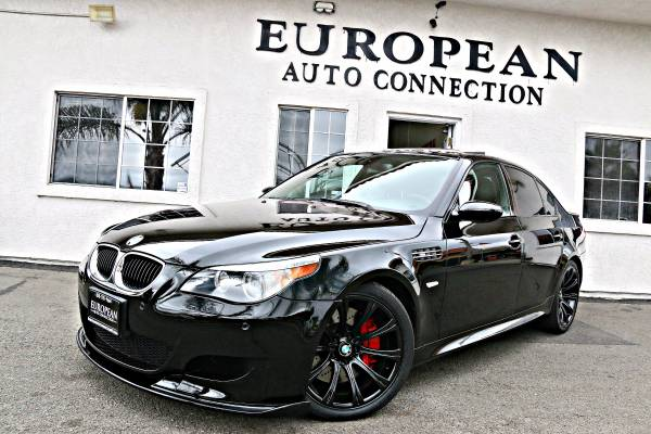 2006 BMW M5 EXECUTIVE PRODUCT BLK/BLK 510+HP BEAST HEADS UP DISPLAY