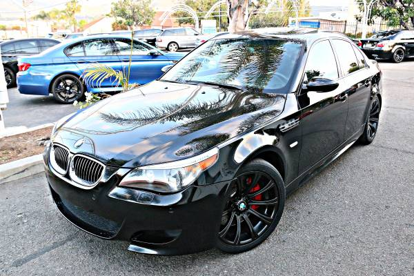 2007 BMW M5 BLK/RED EXECUTIVE PRODUCT 510+HP BEAST FULLY LOADED 10/10