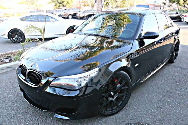 2008 BMW M5 BLACK/BLACK EXECUTIVE PRODUCT 550+HP BEAST LOADED ONLY 80K