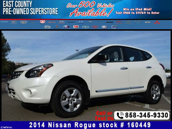 2014 Nissan Rogue Select S Stock #160449