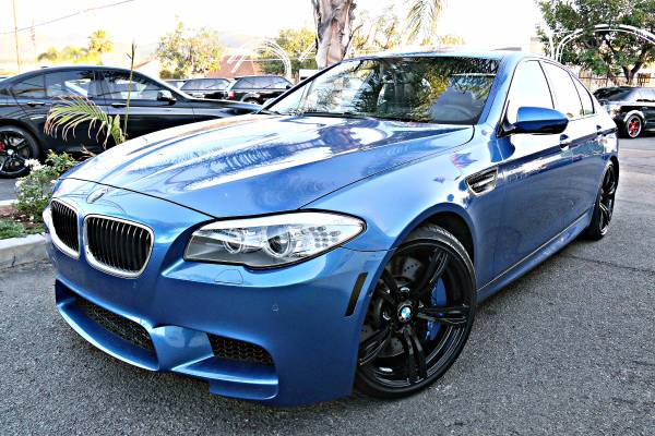 2013 BMW M5 EXECUTIVE PRODUCT 1-OWNER 580+HP BEAST LOADED GPS HIFI CAM