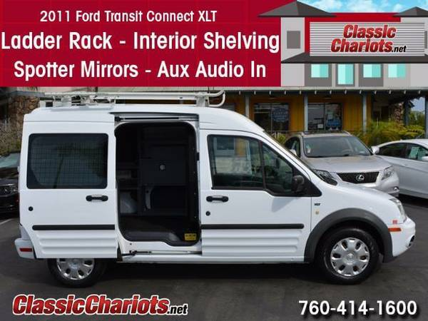 2011 *Ford* *Transit* Connect *Cargo* *Van* - Ladder Racks - Bins - Sh