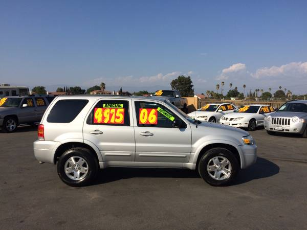 ==>2006 FORD ESCAPE<==LIMITED=LOW MILES=6CYL=AUTO=CALL
