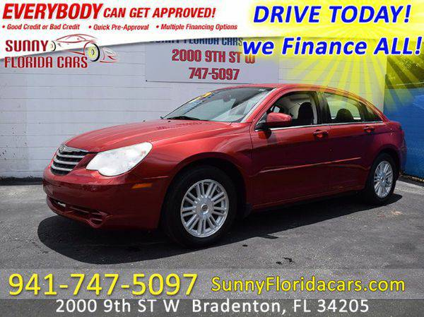 2007 *Chrysler* *Sebring* Touring - WE FINANCE ALL - EVERY ONE RIDES