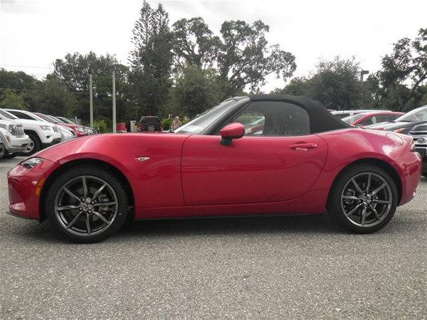 2016 MAZDA MX-5 MIATA GRAND TOURING CONVERTIBLE NAV 3K MILES