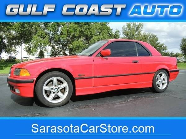 1996 BMW 3-Series 328IC! ONLY 90K MI! TAN LEATHER! CARFAX CERT! NICE!