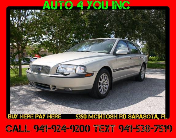 Volvo S80 T6 ~ Free Warranty ~ No Credit check Financing ~ Auto 4 You