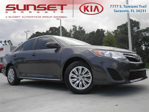 2014 *Toyota* *Camry* LE -BAD/GOOD/NO CREDIT!!