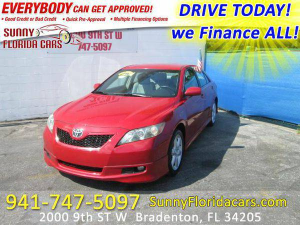 2009 *Toyota* *Camry* SE - WE FINANCE ALL - EVERY ONE RIDES