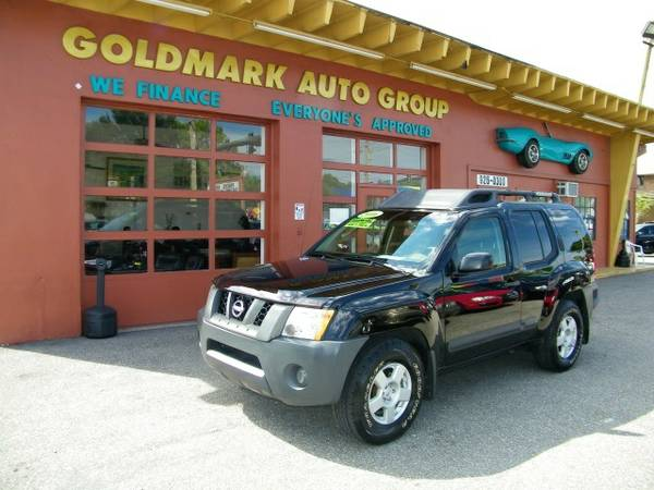 2006 Nissan Xterra X MANUAL TRANSMITION FULL POWER WE FINANCE