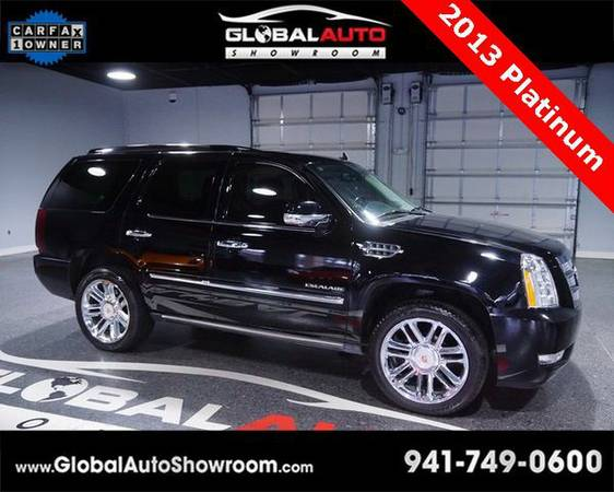 2013 *Cadillac* *Escalade* Platinum Edition *Over 100 in Stock-Indoor