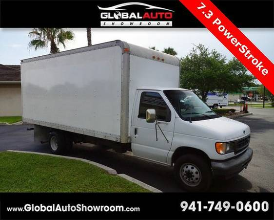 2002 *Ford* *E-450SD* Box Truck *Over 100 in Stock-Indoor Showroom-SR