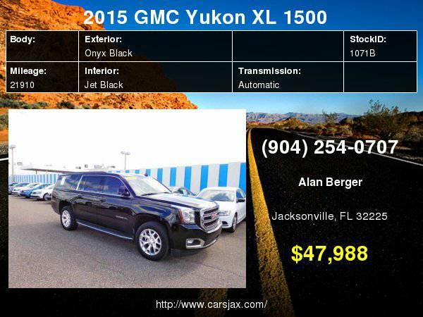 2015 GMC Yukon XL 1500 SLE