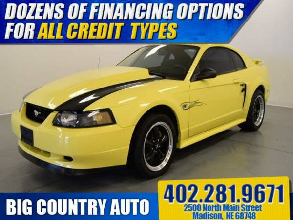2001 Ford Mustang 2dr Cpe GT Premium 2dr Car 2dr Cpe