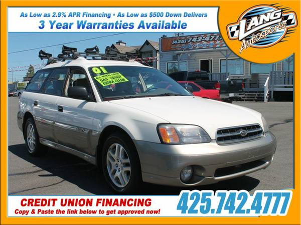 2001 Subaru Outback Base ________Leather!______$500 Down PYMT!________