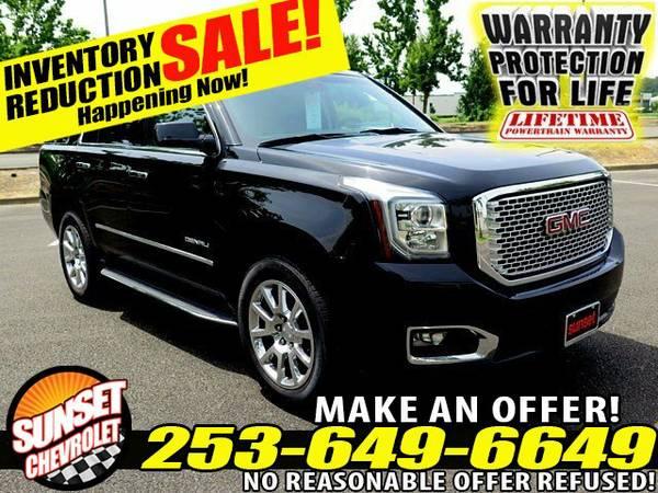 2015 *GMC* *Yukon* Denali V8 6.2L 8-Speed Auto 4WD SUV *GMC* *Yukon*