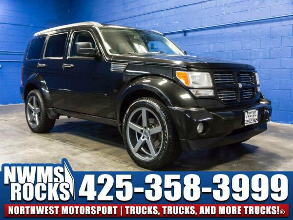 2008 *Dodge Nitro* RT 4x4 - Clean Carfax History! 2008 Dodge Nitro...