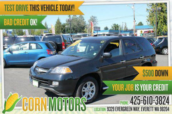 2006 *Acura* *MDX* Touring w/Navi *~*Carfax WA 1-Owner*~* - GET...